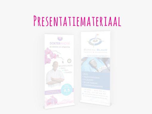 presentatiemateriaal